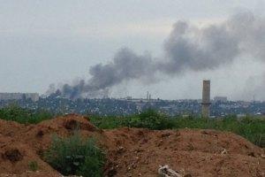 """Терористи обстрілюють житлові квартали Луганська із """"Граду"""""""