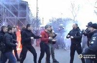 Затримано двох організаторів бійки з поліцією в Черкасах (оновлено)
