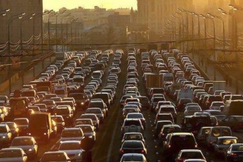 Киев занял седьмое место в мире по количеству пробок