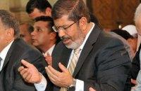 Президент Єгипту підтримав сирійських повстанців