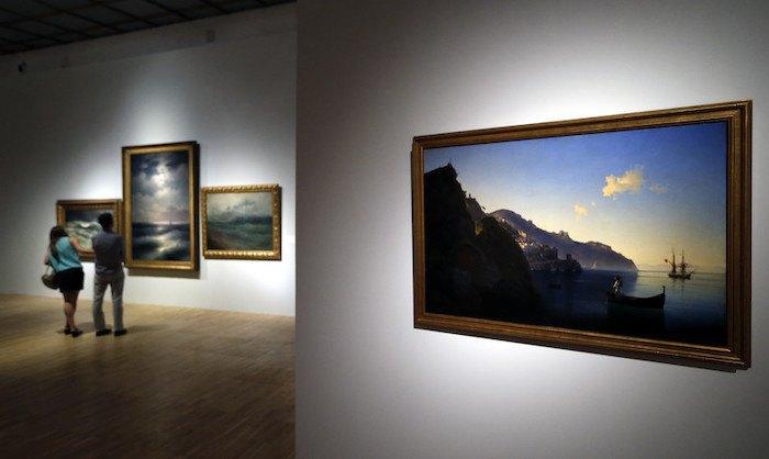 Виставка Айвазовського в Третьяковській галереї