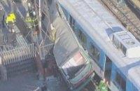 В Бразилии столкнулись два поезда метро