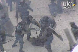 """Во время атаки """"Беркута"""" задержаны минимум 40 человек"""