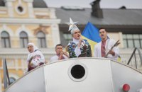 В Офисе президента заявили, что законно использовали песни исполнителей во время попурри на День независимости