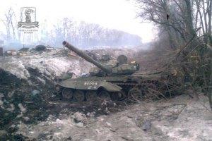 Военные за сутки истребили не менее 5 единиц тяжелой техники сепаратистов
