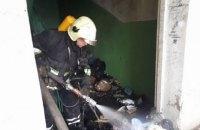 В Ужгороде произошел пожар в самой высокой многоэтажке города