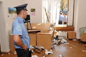 Милиция оценивает испорченное при штурме Киевсовета имущество