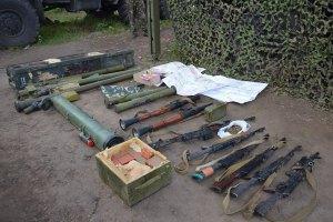 Силовики изъяли у боевиков три танка, три установки «Град», четыре бронированные машины