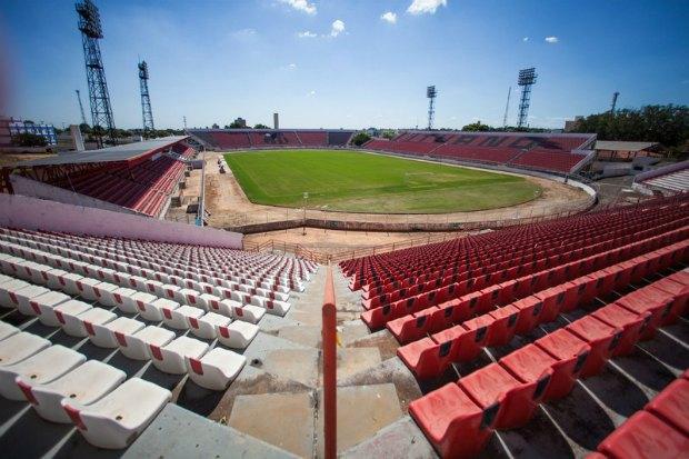 Футбольный стадион в Бразилии
