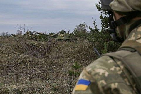 Сегодня утром оккупанты стреляли около Песков