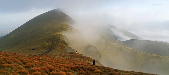 Свидовецький масив, гора Велика Близниця 1881 м над р.м.
