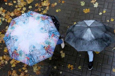 В пятницу в Киеве прогнозируют дождь и до +15 градусов