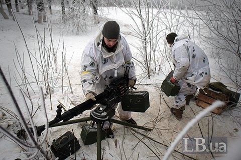 За сутки на Донбассе ранен один военнослужащий ВСУ