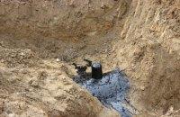 На території військової частини знайшли врізання в магістральний нафтопровід