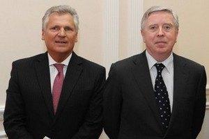 Кокс и Квасьневский снова едут в Украину