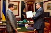 Янукович гордится знаменитым земляком Кобзоном