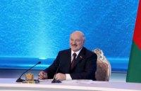 Лукашенко привітав Зеленського з перемогою на президентських виборах