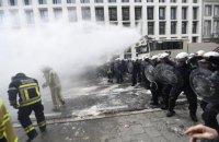 В Брюсселе 10 тысяч бюджетников вышли на акцию протеста