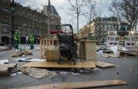 В Париже полиция разогнала противников реформы трудового кодекса