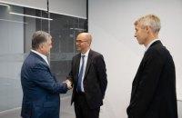 Порошенко встретился с представителями миссии МВФ в Украине