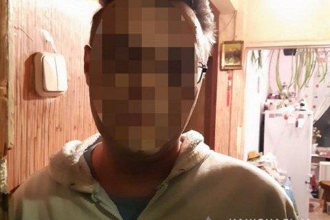 В Киеве задержали мужчину, который с ножом нападал на прохожих