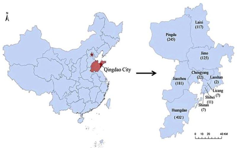 Географическое расположение города и его административное деление.