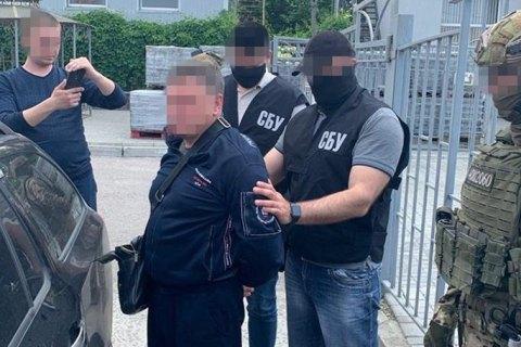 Контррозвідка СБУ затримала росіянина, якого за тяжкі злочини розшукував Інтерпол