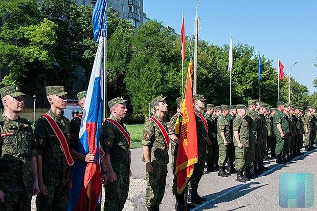 Празднование 21-летия создания ОГРВ в Приднестровье, 01 июля, 2016.
