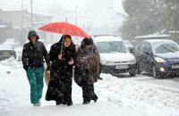 В Тунисе от холода умерли 11 человек