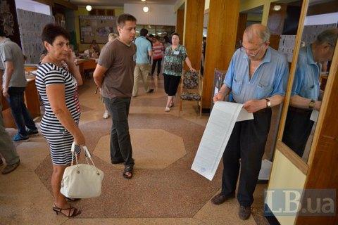 Виборці Чернігова демонструють дуже низьку явку на виборах