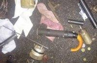 Под Киевом поймали искателя боеприпасов со стреляющим зонтом