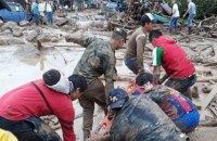 Число жертв наводнения и оползня в Колумбии возросло до 250 человек