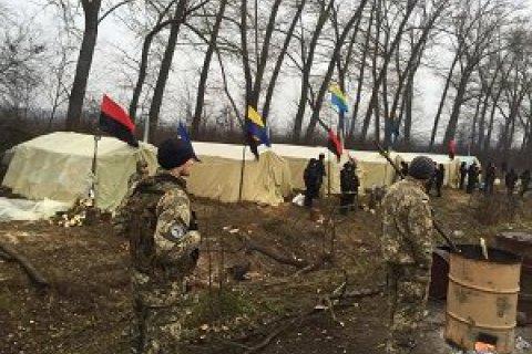 Люди Семенченко прекратили блокировать топливный терминал в Новоград-Волынском