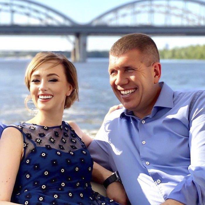 Анатолий Гунько с женой Натальей