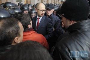 Милиция отпустила всех задержанных у здания Киевсовета