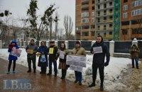Активисты требуют закрыть уголовное дело против защитников сквера на Осокорках в Киеве