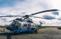Нацгвардія отримала третій французький гелікоптер Airbus Н-225