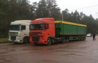 Полиция не пустила в Глухов грузовики с львовским мусором (обновлено)