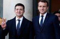 Посольство готовит визит президента Франции Макрона в Украину, ожидается подписание соглашения с Alstom о поставках электровозов
