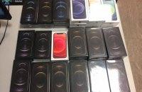 Житель Киева пытался ввезти в Украину партию iPhone12 более чем на миллион гривен