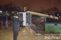 В результате падения крана на стройплощадке в Одессе погиб рабочий