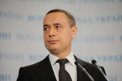 Мартыненко зарегистрировал в Раде заявление о сложении депутатских полномочий