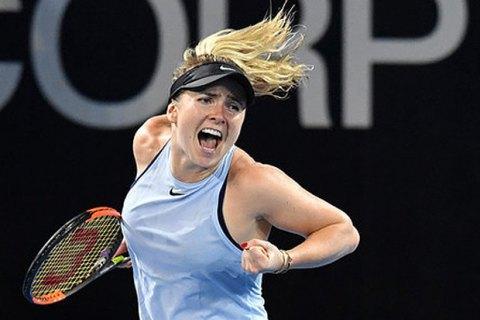 Світоліна покинула третє місце в рейтингу WTA
