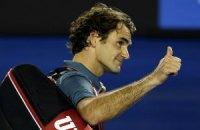 """Федерер у 21-ше поспіль виграв """"вкидання шайби"""""""