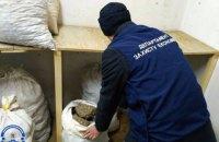 В Ровенской области изъяли тонну янтаря