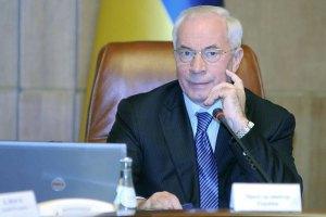 Азаров поручил Кабмину готовить трехстороннюю встречу с ЕС и Россией