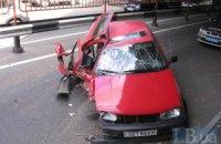 В Киеве мужчина попал в аварию из-за диабетического приступа