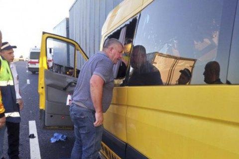 В окупованому Криму в ДТП з маршруткою та КамАЗом загинуло дев'ятеро людей (оновлено)