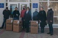 Фонд Порошенка передав кисневі концентратори бородянській амбулаторії