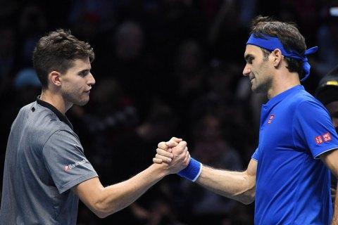 Федерер виграв свій перший матч на Підсумковому турнірі ATP